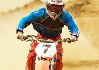 Motocross Ziffern für die Nummerntafel